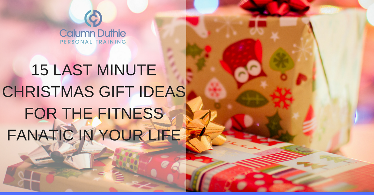 Last minute fitness gifts